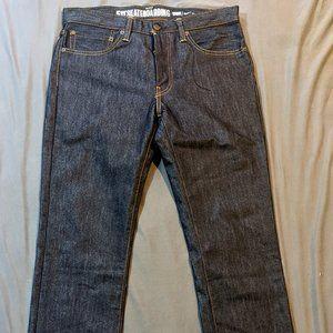 Levi X Nike Raw Denim Jeans 34x32